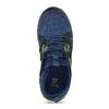 Modré detské tenisky s neonovým detailom mini-b, modrá, 319-9396 - 17