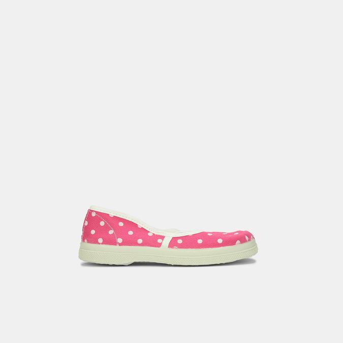 Ružové detské prezuvky s bodkami bata, ružová, 279-5102 - 13