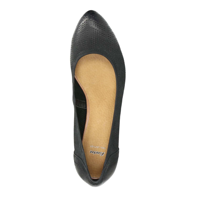 2e327255fd07 Baťa Kožené lodičky na klinovom podpätku - Všetky topánky