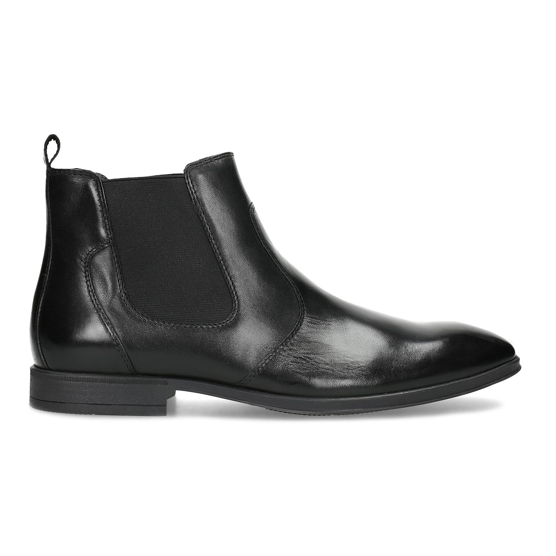 Baťa Kožená pánska členková Chelsea obuv - Elegantné  e66d585a9dc