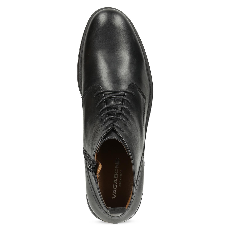Vagabond Pánska čierna kožená členková obuv - Elegantné  ca4dc0c13ca