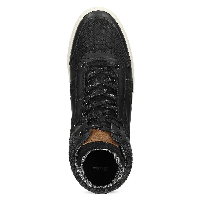 fd6f7502187c0 ... Čierne členkové pánske tenisky bata, čierna, 846-6722 - 17 ...